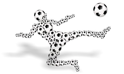 footballs soccer player