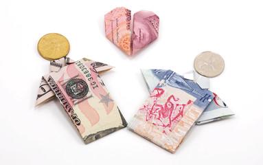 Paper folded: In love