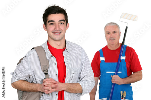 Decorator and his apprentice