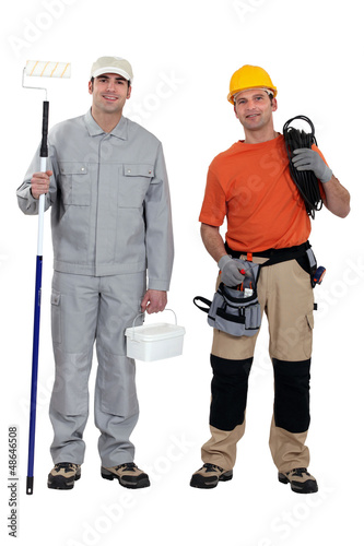 Painter and electrician