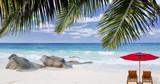 Seychelles, plage paradisiaque de Source d'Argent