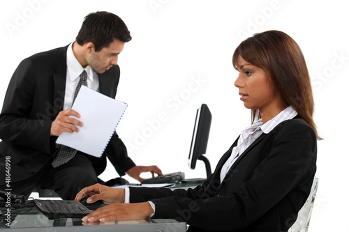 Business professionals at the office