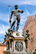 Fountain of Neptune in Bologna, Italy