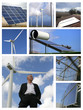 Mosaic of alternative energy sources