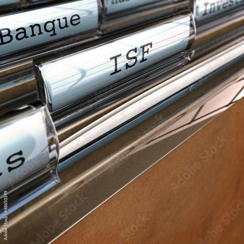ISF, impôt sur la fortune