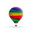 Vector Logo hot-air balloon