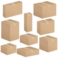 packaging box set