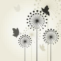 Three dandelions2