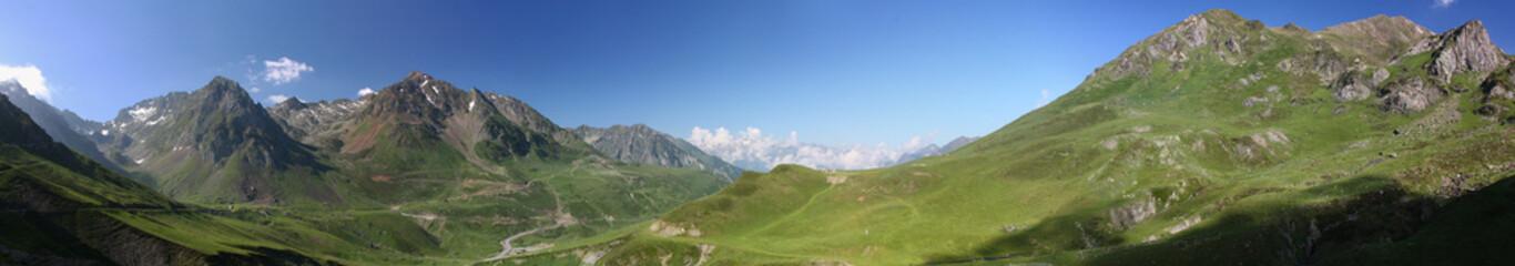 Panoramique Col du Tourmalet - Pyrénées