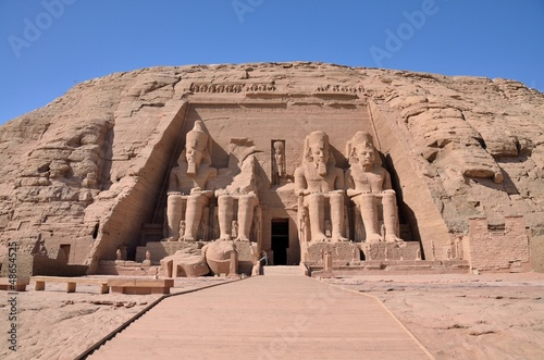 Aluminium Egypte The Great Temple of Abu Simbel, Egypt