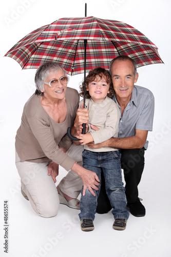 Stay under the umbrella honey