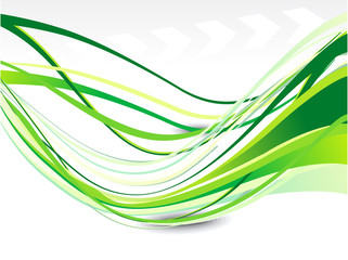 abstract green web background
