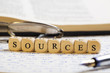 Letter Dices Concept: Sources