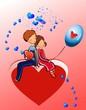 kompozycja na Walentynki