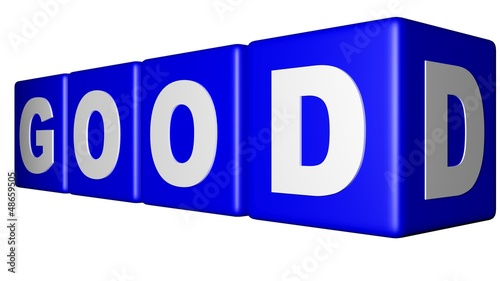 Good blue cubes
