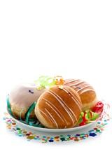 Carnival bismarck doughnuts