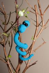 Синий змей
