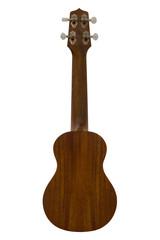 Back side of ukulele