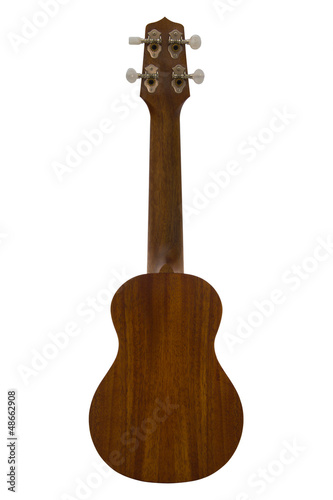 Back side of ukulele