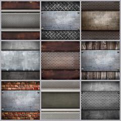 piastre collage