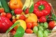 Verschiedenes frisches Obst und Gemüse