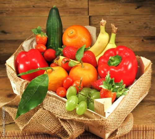 Vitamine im Körbchen