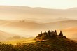 Scenic view of typical Tuscan landscape