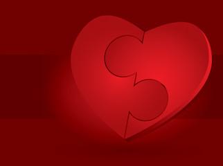 St. Valentine's day illustration
