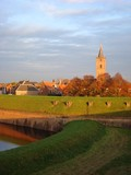 Late afternoon in Naarden, Netherlands