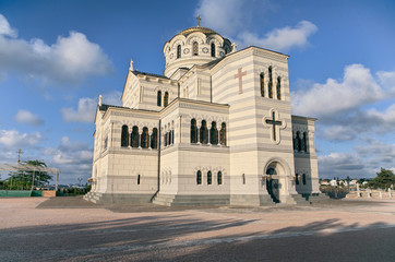 Orthodox cathedral at Chersonesus