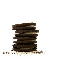 Choclolate Cookies and Crumbs