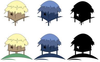 tropic hut