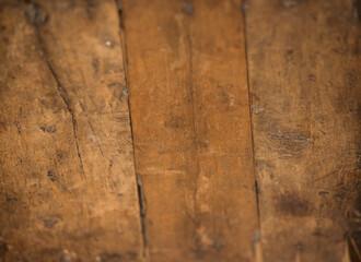 Textura de madera encerada marcada, gastada.