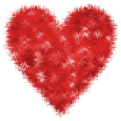 Herz Abstrakt Valentinstag Liebe Rot Rosa Freisteller