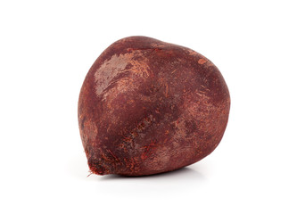 Beetroot on a white background