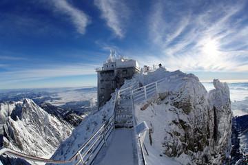 Lomnicky stit in High Tatras, Slovakia, Europe
