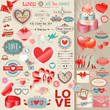 Valentine`s Day Set - Vintage ...