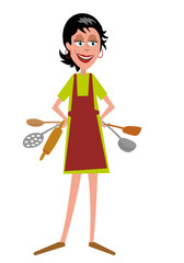 Cuisiniere_personnage