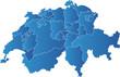 Schweiz Karte Kantone