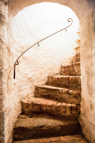 old staircase - 48685940