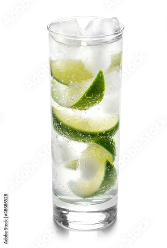 Fizzy Drink with Limes