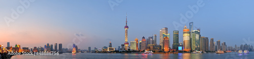 Foto op Plexiglas China Shanghai cityscape
