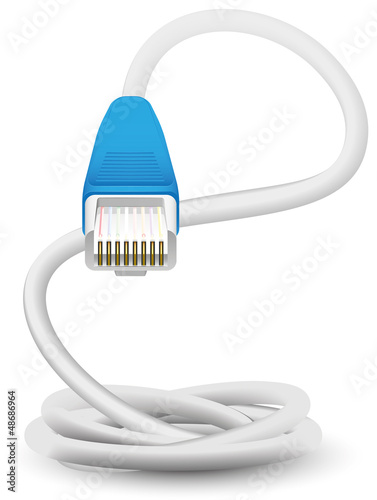 network cable vector