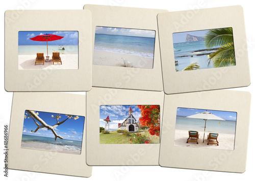 """diapositives """"vacances à l'île Maurice"""""""