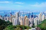 Fototapety Hong Kong architecture