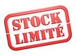 """Cachet """"Stock Limité"""""""