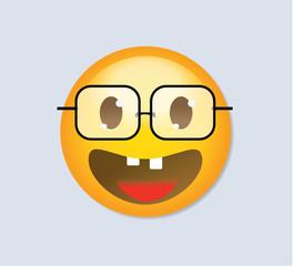 Emoticon - Nerd