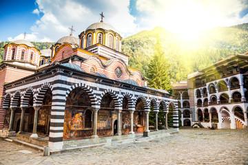 Rila monastery, a famous monastery in Bulgaria