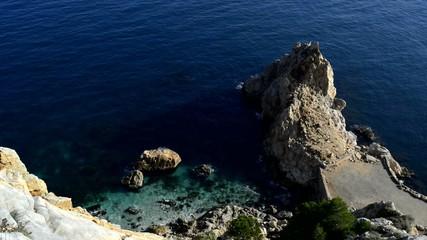 acantilado y mar