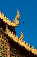 The roof of the temple, Phra That Doi Suthep